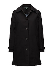 CHMBRY CTN BLND-SYNTHETIC COAT - BLACK
