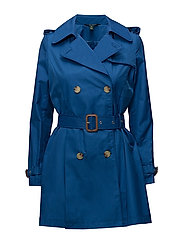 Cotton-Blend Trench Coat - DELFT