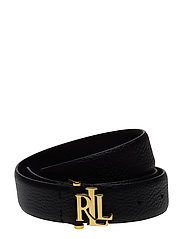 Carrington Leather Belt - BLACK