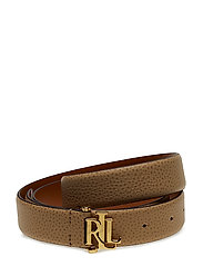 Carrington Leather Belt - CAMEL