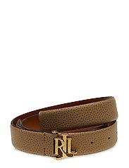 Carrington Leather Belt - CAMEL
