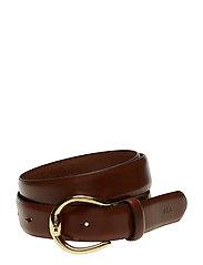 Bennington Leather Belt - TAN