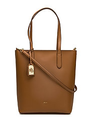 Leather Alexis Tote - FIELD BROWN/MONAR
