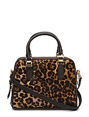 Haircalf Callie Satchel - LEOPARD PRINT