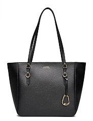 Saffiano Medium Shopper - BLACK