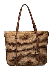 Straw Tote - NATURAL