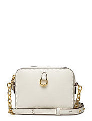 Saffiano Leather Crossbody Bag - VANILLA