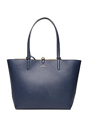 Reversible Tote - NAVY/GOLD