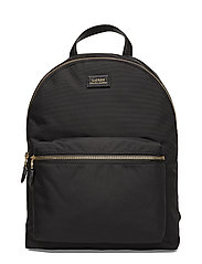 Nylon Backpack - BLACK