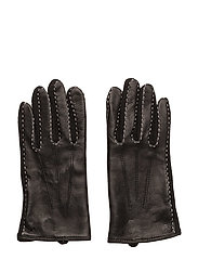 Wool-Blend Touch Screen Gloves - BLACK/BLACK