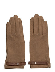 Belted Touch Screen Gloves - CLASSIC CAMEL