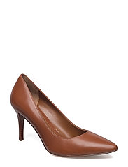 Reave Leather Pump - DEEP SADDLE TAN