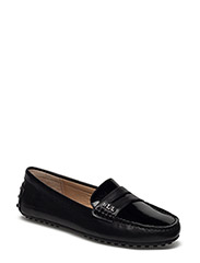 SIGBURN CALF LEATHER LOAFER - BLACK/BLACK