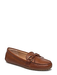 Briley Leather Driving Loafer - DEEP SADDLE TAN