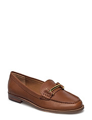 BURNISHED CALF-FLYNN-SH-TLD - DEEP SADDLE TAN