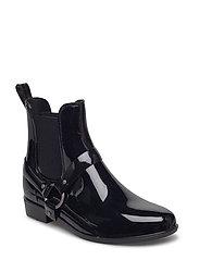 Tricia PVC Rain Boot - BLACK