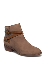 Mehira Oiled Suede Boot - NEW SNUFF/DEEP SADDLE TAN