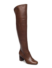 Hesper Leather Boot - BURNISHED BROWN/BURNISHED
