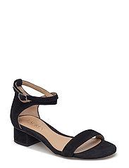 Betha Suede Sandal - BLACK