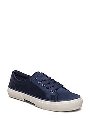 Satin Jolie Sneaker - DARK MIDNIGHT