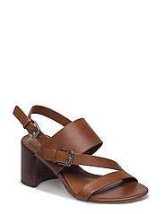 Florin Vachetta Leather Sandal - DEEP SADDLE TAN