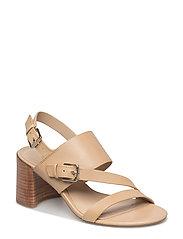 Florin Vachetta Leather Sandal - STRAW