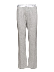 Cotton Jersey Sleep Pant - GREY HEATHER