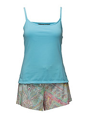 Camisole & Paisley Short Set - MULTI