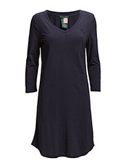 3/4 SLEEVE V NECK SLEEPTEE - WINDSOR NAVY