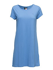 TEE-SLEEPSHIRT-SLEEP TOP - PERIWINKLE BLUE