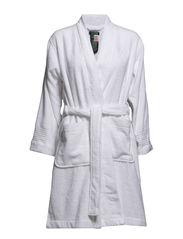 Terry Shawl-Collar Robe - WHITE