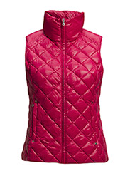 PACKABLE QUILTED VEST - SABRINA PINK