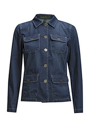 WENDY - SAILOR DENIM JACKET - NEW BOND WASH