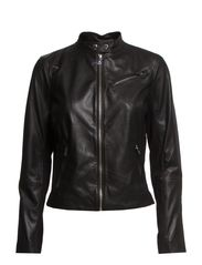 BEVERLY - MOTO JKT - BLACK