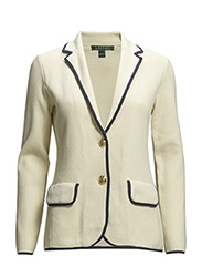 KINADINE - NOTCH COLLAR BLAZER - MODERN CREAM/IN