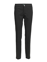 ANJAI - FULL SLIM PANT - BLACK