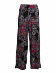 JAIBAN - WIDE LEG - BLACK MULTI
