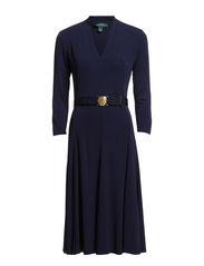 LORRAINE - 3/4 SLV DRESS (EU-E - REGAL NAVY