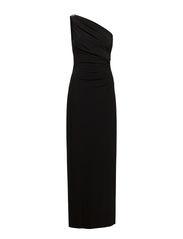 CHANA - SLEEVELESS DRESS - BLACK