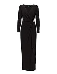 PASCHA - LONG SLEEVE DRESS - BLACK