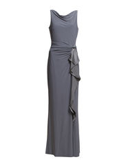 TRULY - SLEEVELESS DRESS - GREY MANOR