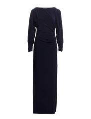 ZARIELA - LONG SLEEVE DRESS - LIGHTHOUSE NAVY
