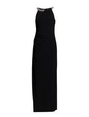 CHERRLYNNE - SLEEVELESS DRESS - BLACK