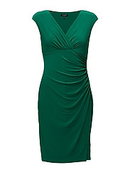 ADARA - CAP SLEEVE DRESS - JARDIN GREEN