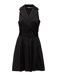 DEXAS - SLEEVELESS DRESS - BLACK