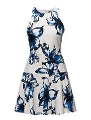 YURILINA - SLEEVELESS DRESS - PEARL-PORT BLUE
