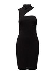 ELDORA - SLEEVELESS DRESS - BLACK