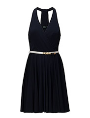 NURI - SLEEVELESS DRESS - ROYAL NAVY