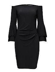 SPENCER - LONG SLEEVE DRESS - BLACK