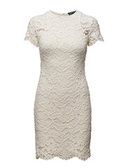BLONDIE - SHORT SLEEVE DRESS - IVORY